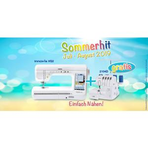 Sommerhit #1 - Brother Innov-is VQ2 + 2104D