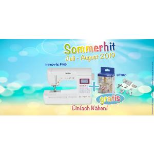 Sommerhit #3 - Brother Innov-is F400 + Couture-Kit