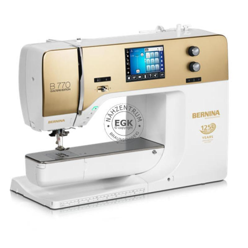 BERNINA B 770 QE Jubiläums Edition